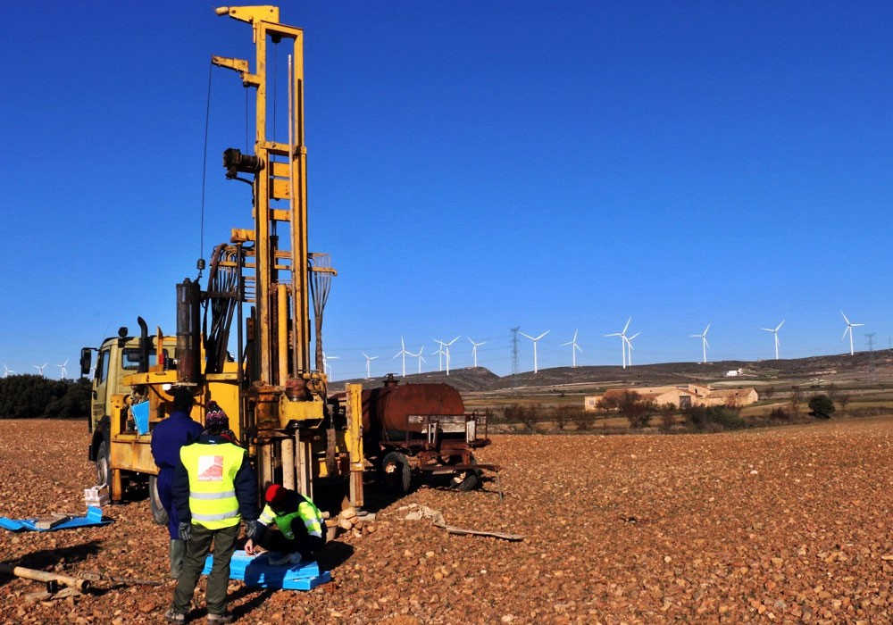 Management and site geotechnical supervision