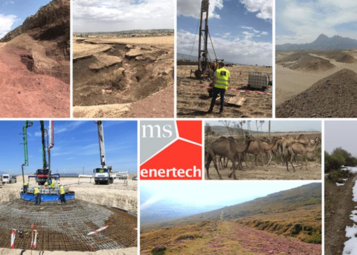 Visitas técnicas sobre el terreno de los proyectos de 2021 de MS Enertech.